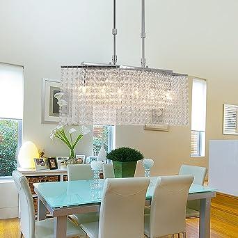OOFAY LIGHT® Upscale Und Elegante Kristall Lampen Wohnzimmer Kronleuchter  Schlafzimmer Sechs Kristall Kronleuchtern