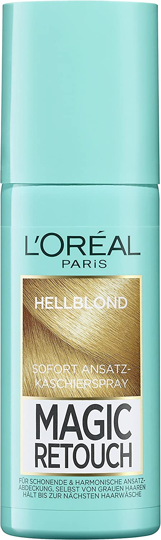 Spray para cubrir espacios sin pelo de LOréal Paris Magic ...