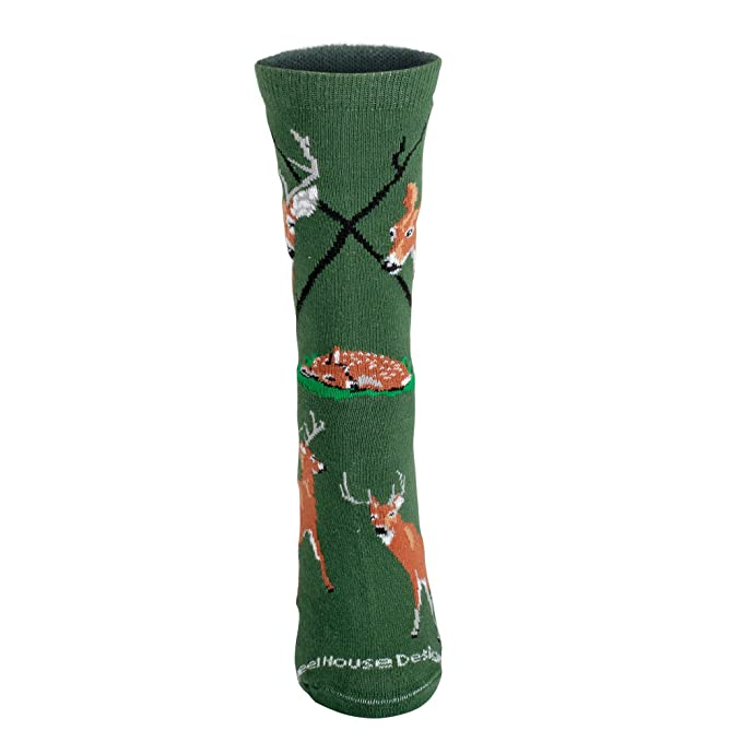 Amazon.com: White Tailed Deer calcetines: Clothing