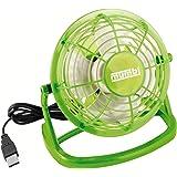 mumbi USB ventilateur–mini Fan pour le bureau avec interrupteur marche/arrêt, vert