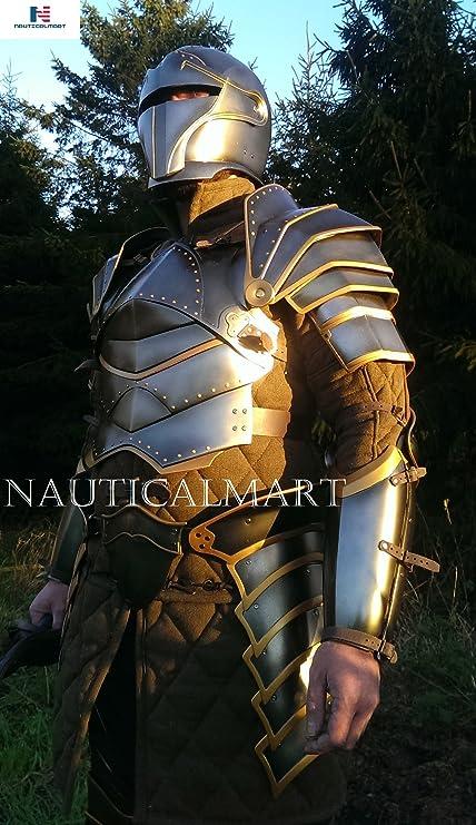 amazon com nauticalmart medieval heroic knight suit of armor larp