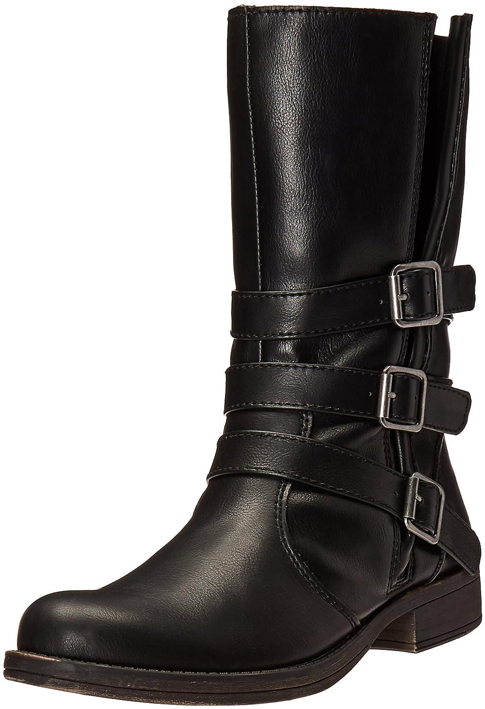 Sugar Women's Ruler Ankle Bootie B01EK6NV00 9.5 B(M) US|Black