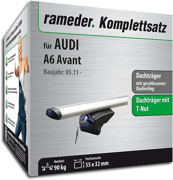 Rameder Komplettsatz Dachträger Pick Up Für Audi A6 C7 Avant 111287 09627 9 Auto