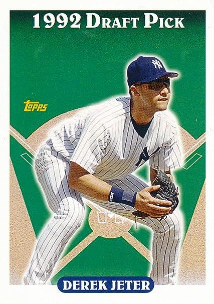 Derek Jeter New York Yankees Baseball Card 2006 Topps Rookie Of