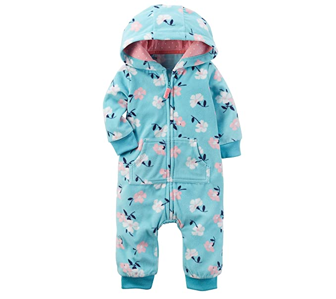 Fleece Footless All-in-one Jumpsuit Baby 12 Months Beautiful In Colour One-pieces