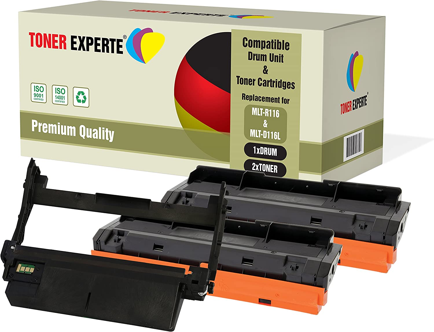 Toner Cartridge for Samsung Compatible MLT-D116L Pack of 3 Black FREE SHIPPING