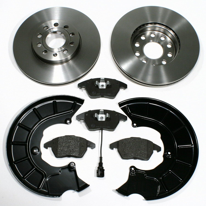 Spritzbleche f/ür vorne//f/ür die Vorderachse Bremsbel/äge Bremsscheiben 1ZE // Bremsen Warnkabel
