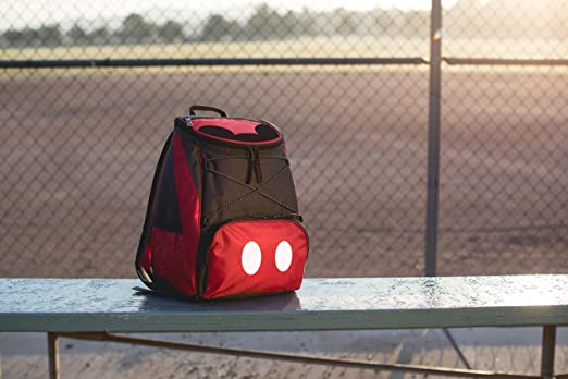 b4aec40cf22 Amazon.com  Disney Classics Mickey Mouse PTX Insulated Cooler Backpack   Kitchen   Dining