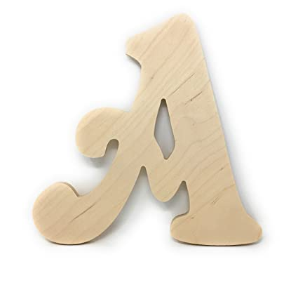 gocutouts 10 wooden a unfinished wooden letters paint ready unfinished wall decor craft cutout