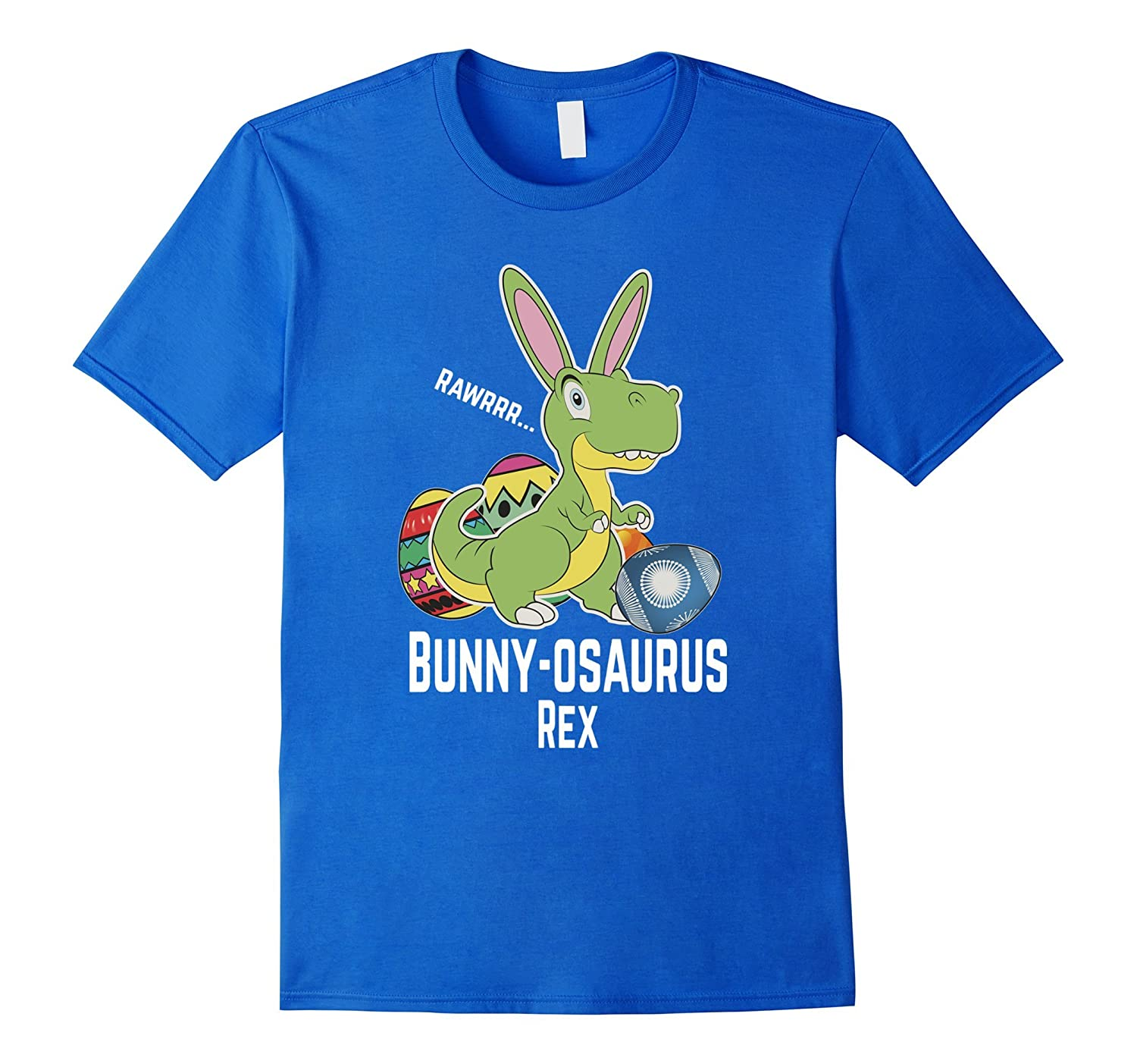 489b4e9a Easter Bunny-osaurus Funny T Shirts Kids Boys Girls Toddlers-TH ...