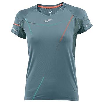 Joma Olimpia III Camisetas, Mujer, Gris, S