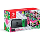 Nintendo Switch Hardware with Splatoon 2 Neon Green/Neon Pink Joy-Cons