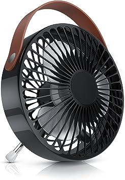 CSL - Ventilador USB - Ventilador de Mesa USB Desk Fan Ventilador ...