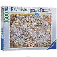 Ravensburger - Historical Map Puzzle 1500Pc