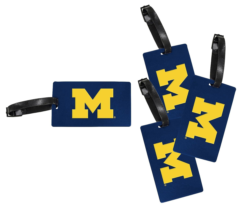 Michigan Wolverines荷物タグ4 -パック   B0767QT23Y