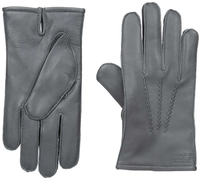 HUGO BOSS Mens Haindt1 Leather Glove