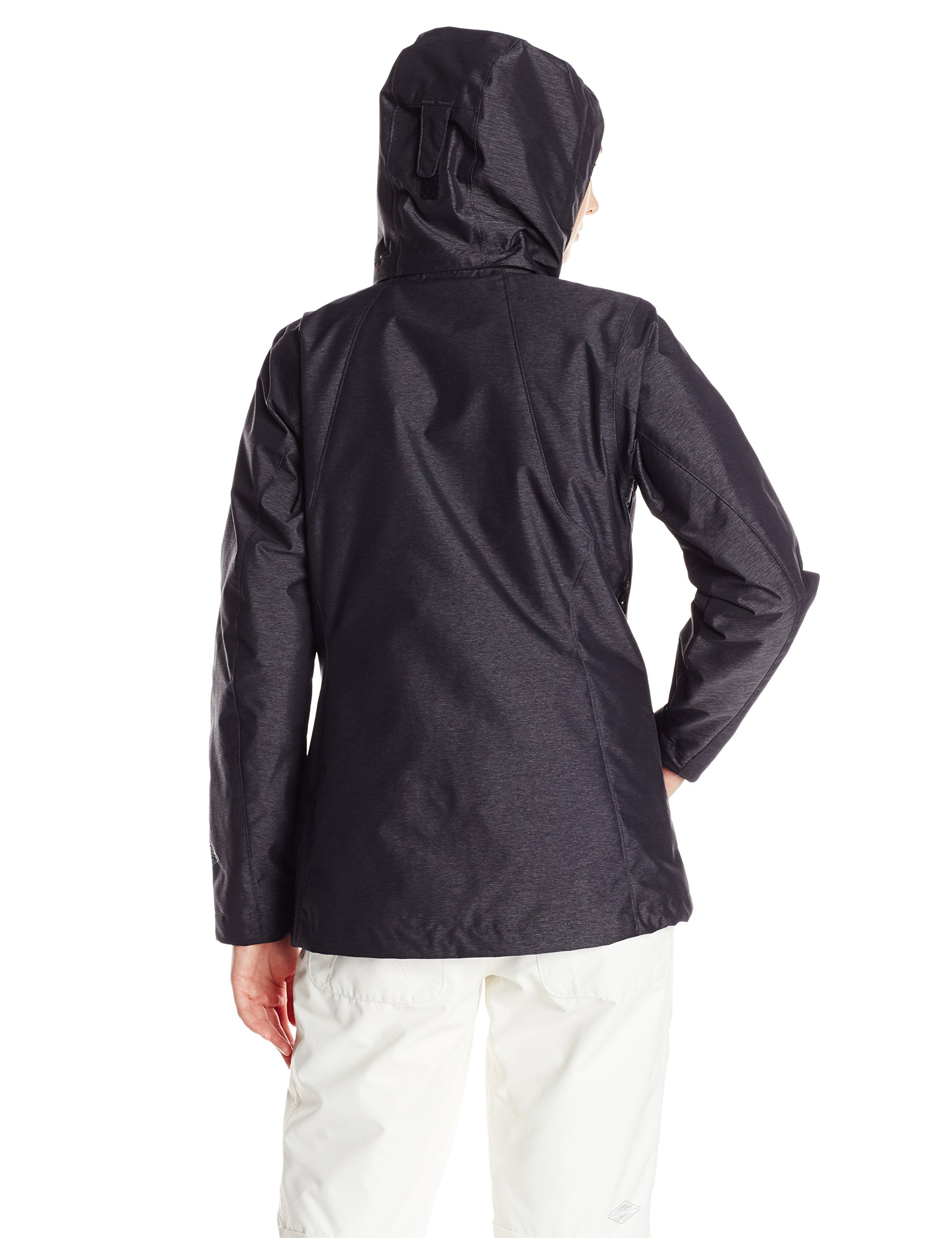 Columbia Women's Whirlibird Interchange Jacket, Black Cross Dye, Medium by Columbia (Image #3)
