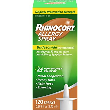Rhinocort Allergy Nasal Spray