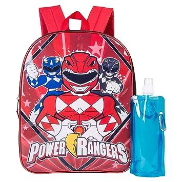 Power Rangers Sports Backpack Super Ninja Steel Rucksack Kids School Bag Gift