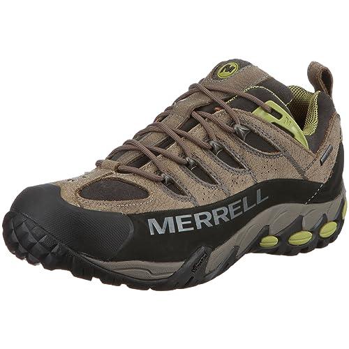 Merrell REFUGE PRO GTX J50935 - Zapatillas de senderismo de cuero nobuck para hombre, color gris, talla 42: Amazon.es: Zapatos y complementos