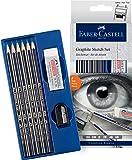 Faber-Castell Creative Studio Mixed Media Graphite Sketch Set 8 pcs, (18-114000)