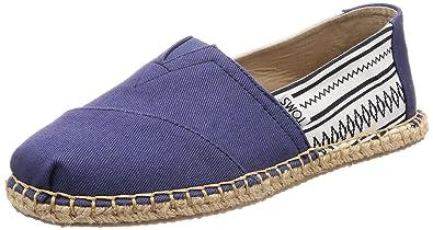 TOMS Mens Blanket Stitch Alpargata Novelty Textile Espadrille, Size: 10 D(M)
