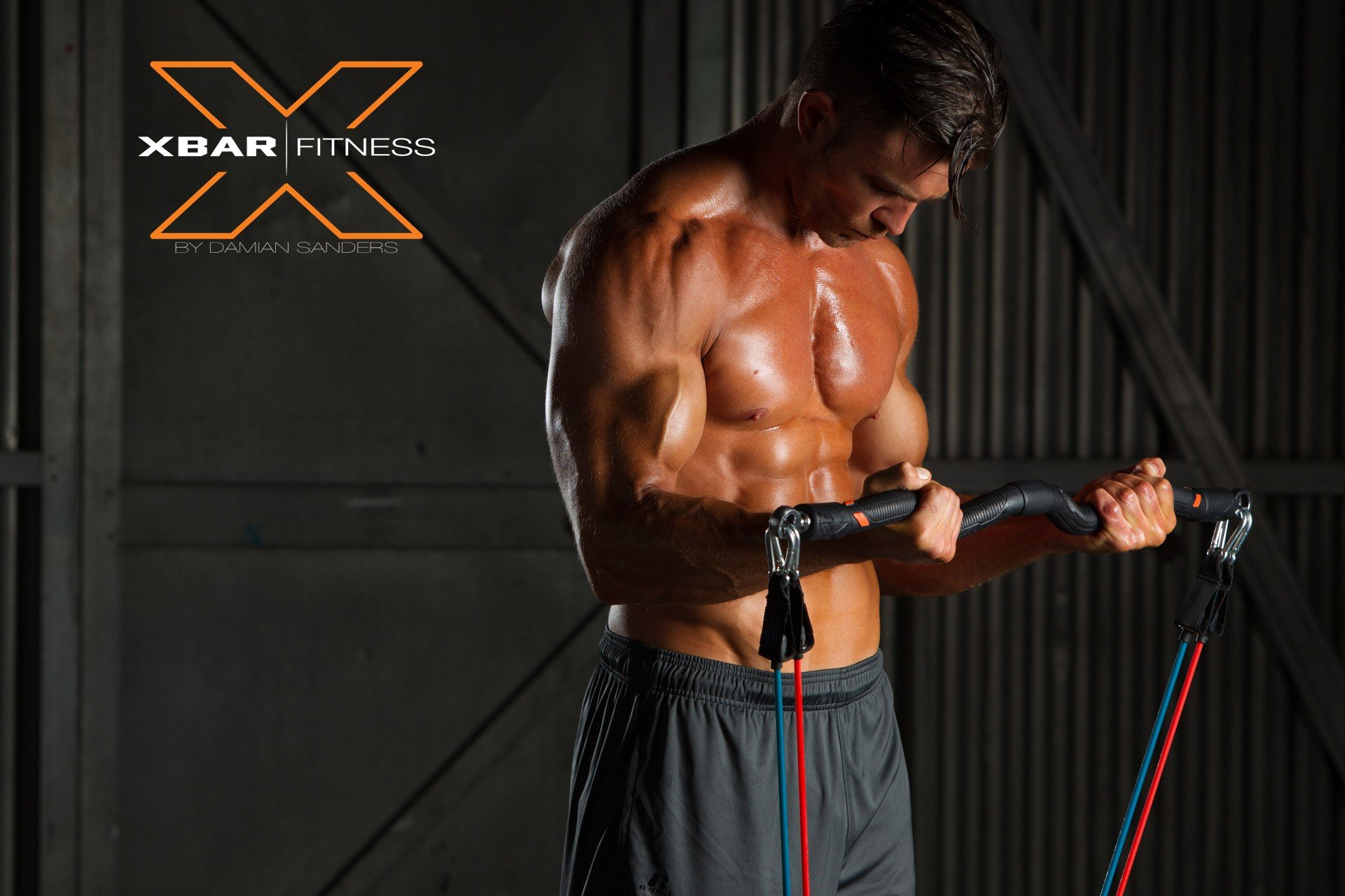 XBAR Fitness Complete 9-Piece Portable Personal Workout System with Resistance Bands by XBAR (Image #1)
