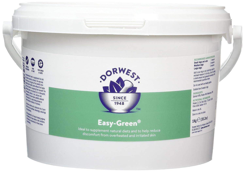 Dorwest Herbs - Easy Green - Complément en poudre pour chien - 1 kg Dorwest Veterinary DWEG1KG