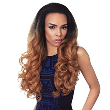 Amazon.com : Outre Synthetic Hair Half Wig Quick Weave Stunna (2) : Beauty