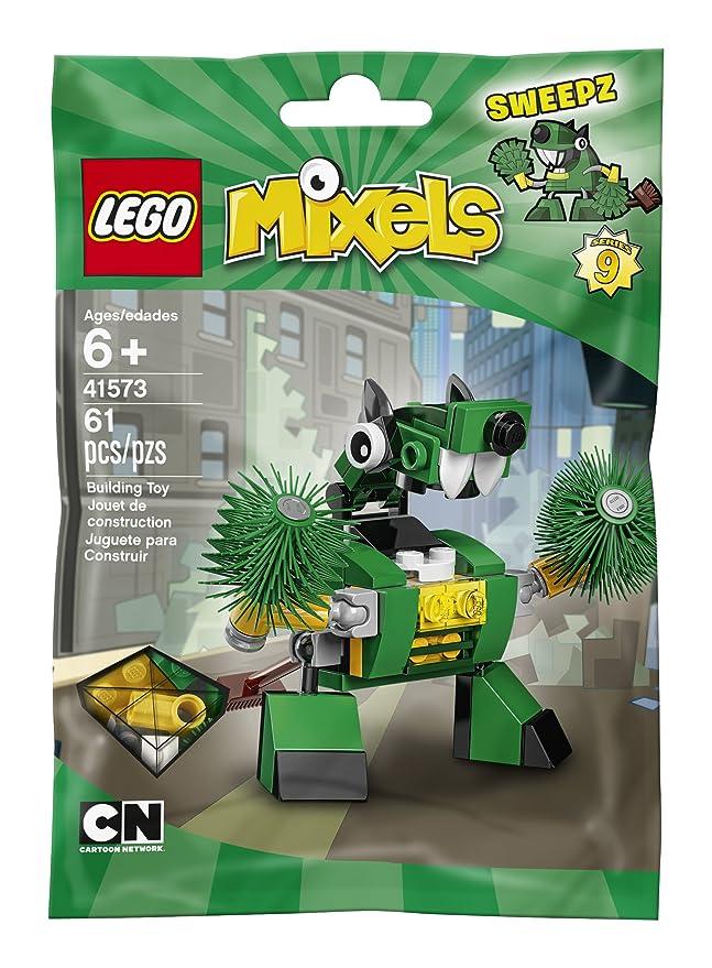 Amazon Lego Mixels 41573 Sweepz Building Kit 61 Piece Toys