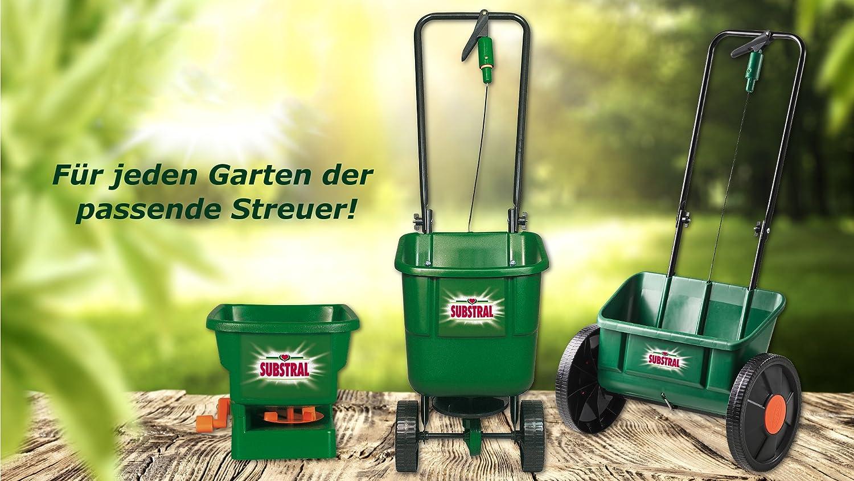 1 St. Streuwagen Substral EasyGreen Universal-Schleuderstreuer D/üngerstreuer mit Rotationstechnik