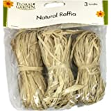 Natural Raffia 3 Bundle Pack Tan