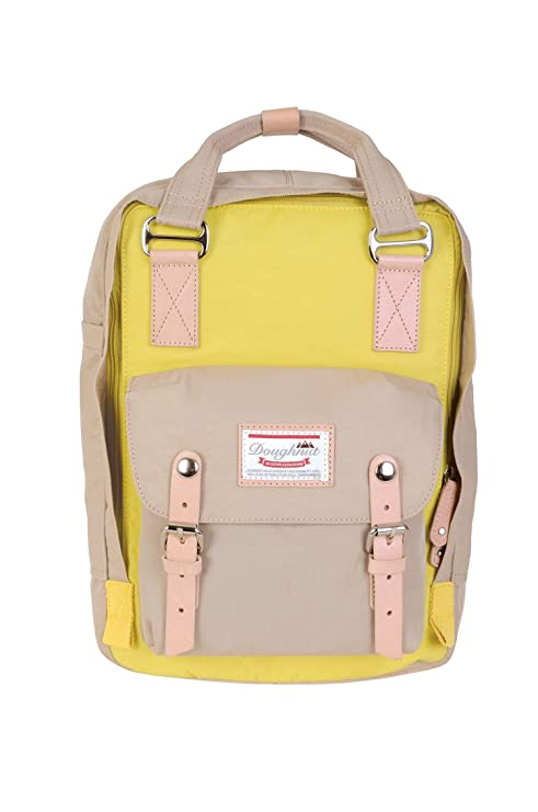 Amazon.com | Doughnut Macaroon Backpack Corn x Beige One Size | Casual Daypacks