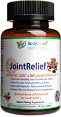 Natural Joint Supplement | Rheumatoid Arthritis Joint Relief | Anti Inflammatory Joint Health Joint Support by Bodymune | Best Joint Nutrition USDA Organic Vegan Gluten Free Non GMO | 60 Day Supply