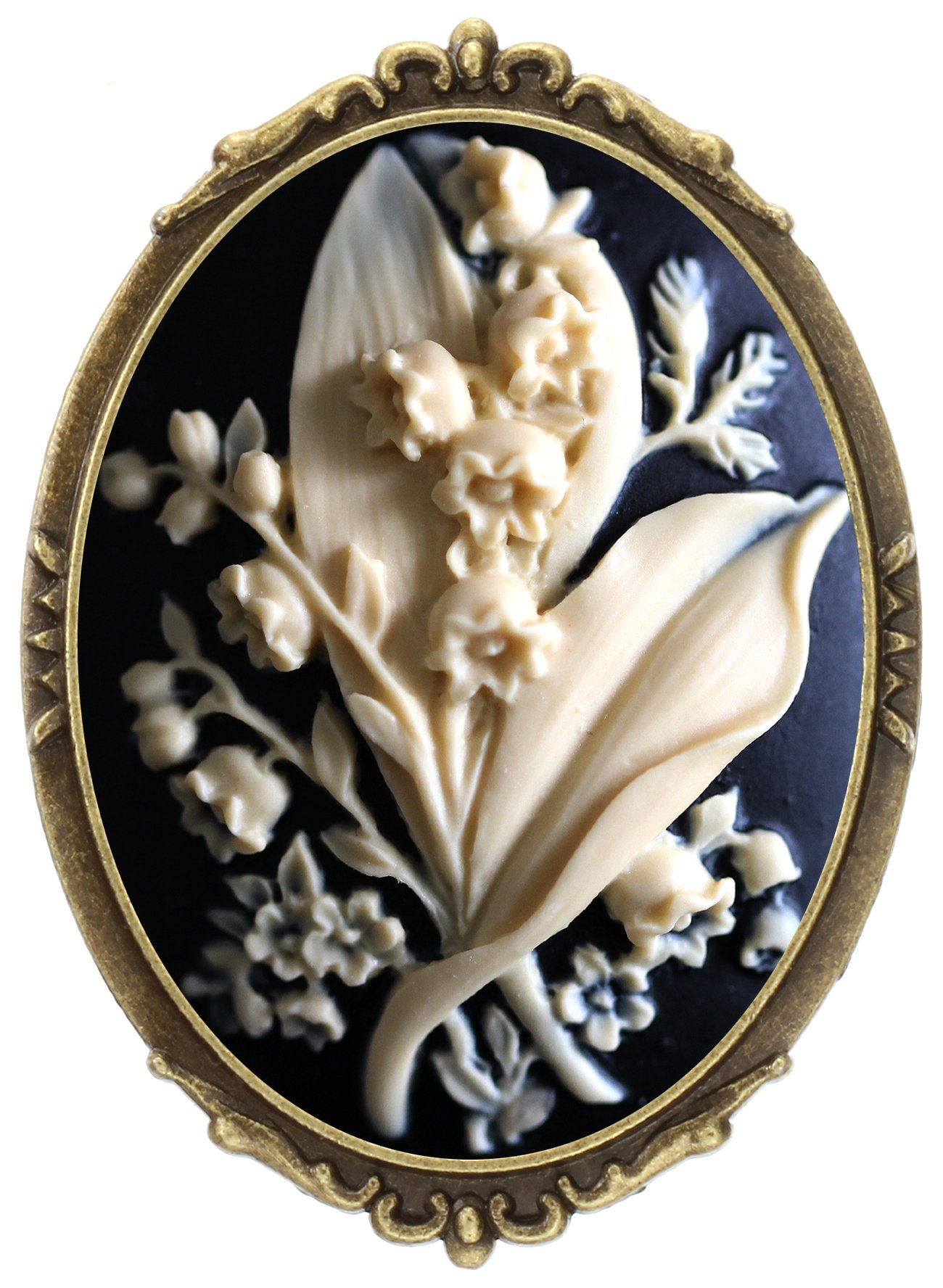 Antique Cameo Brooch Amazon