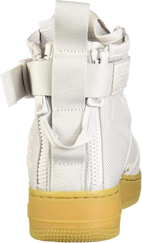 Nike W Sf Af1 Mid, Scarpe Da Fitness Donna Multicolore Vast Grey 005