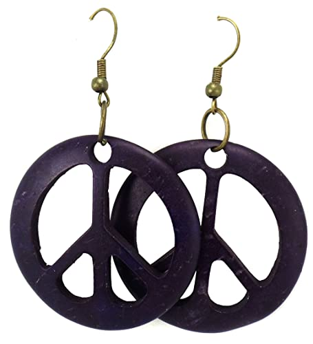 w symbol handmade earrings artisana peace alpaca and fair silver trade products global