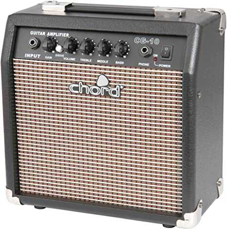 Amplificador de guitarra Chord CG-10 15cm EQ: Amazon.es ...