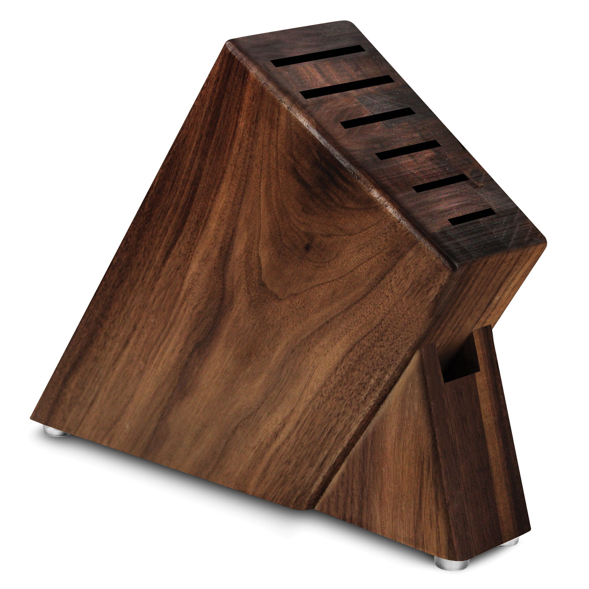 Cutlery and More 7-slot Slim Knife Block (Walnut)