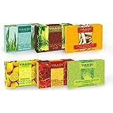 Vaadi Herbals Traditional Remedy Luxurious Handmade Herbal Soaps, 75g (Pack of 6)