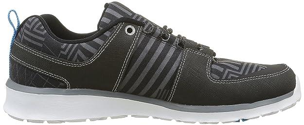 DC Shoes Lynx Lite KB, Alpargatas para Hombre, Negro (Kmi), 45 EU