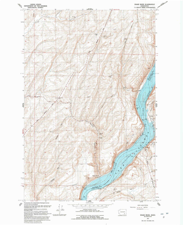 Colorado River Topographic Map