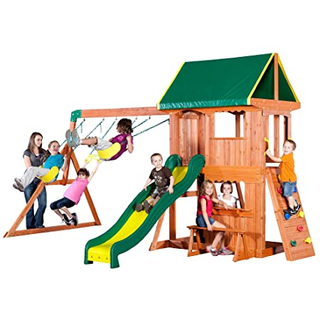 The 50 Best Backyard Swing Sets Of 2019 Family Living Today