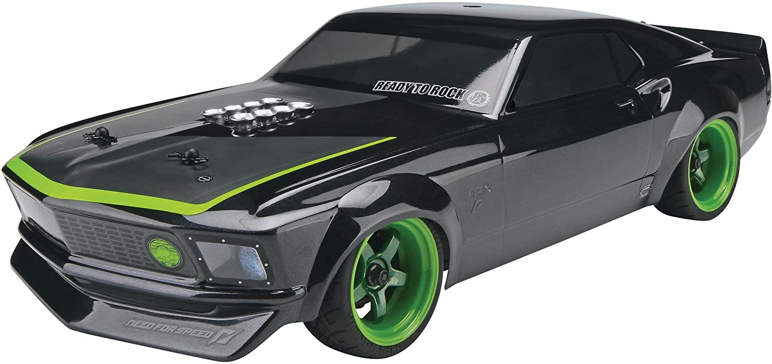 Hpi racing 109299 sprint 2 sport rtr with 1969 mustang rtr x body