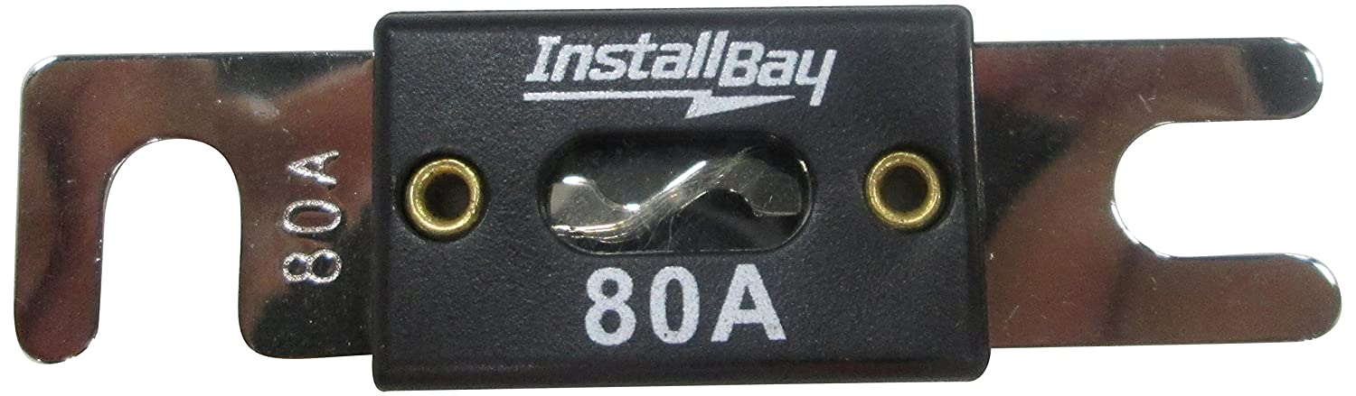 Install Bay ANL80-10 - 80 Amp ANL Fuses, 10-Pack Metra Electronics Corporation