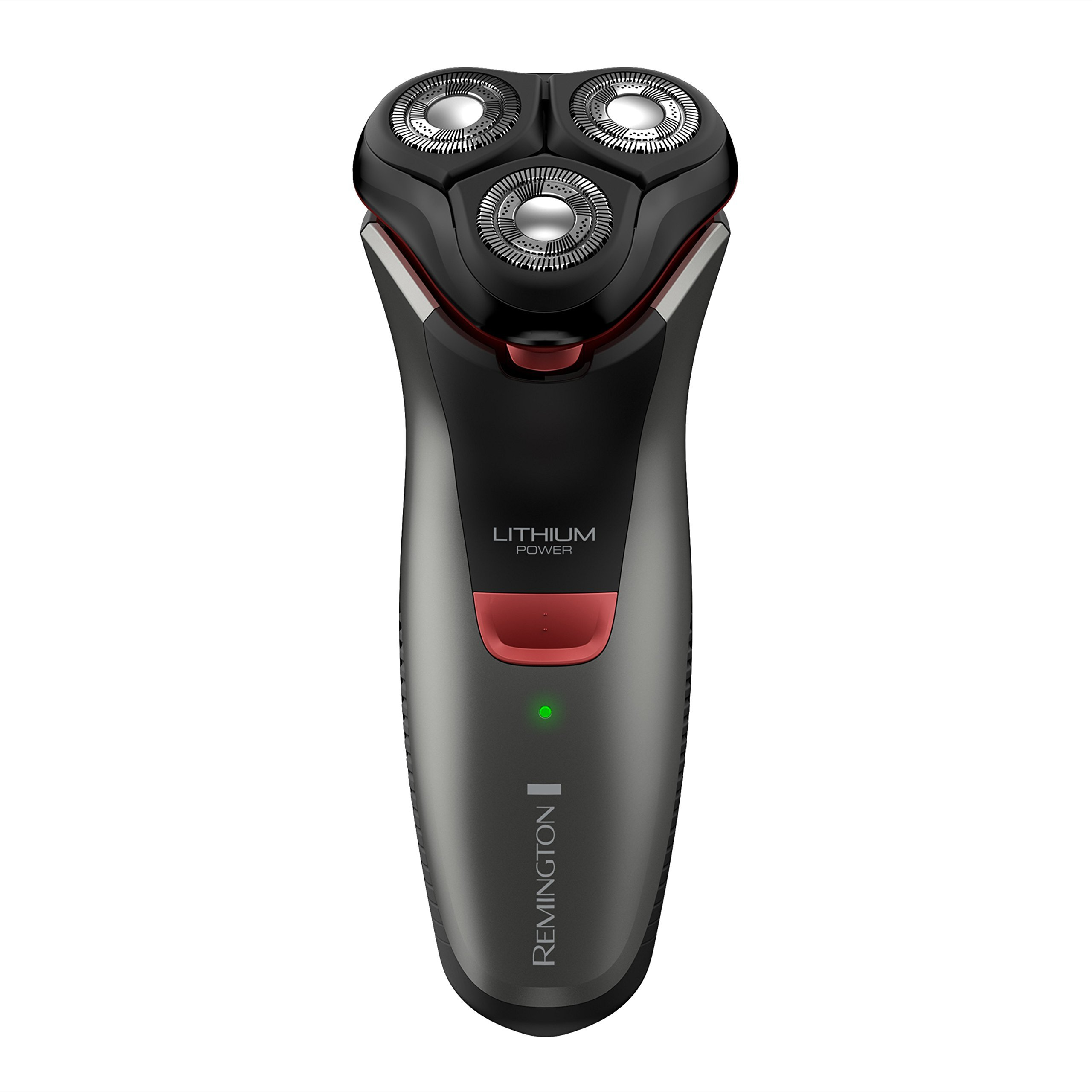 Remington R4000 Series Electric Rotary Shaver, Fully Washable, Black/Red, PR1340 (Certified Refurbished)