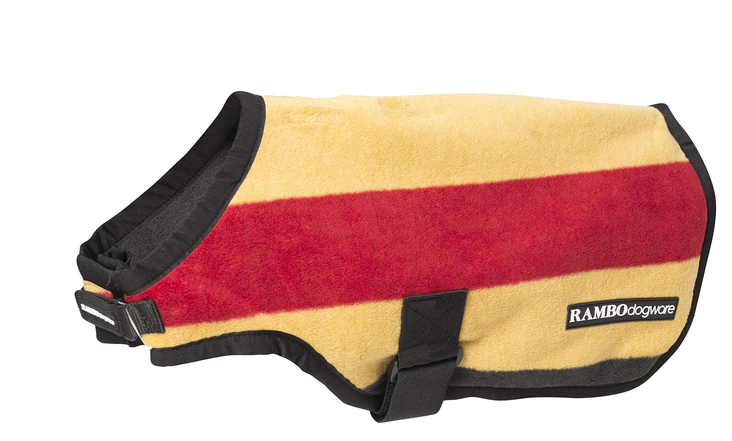 Rambo Deluxe Dog Blanket XXX-Large Gold by Rambo Blankets