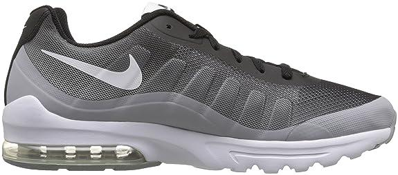 Nike Men's Air Max Invigor Print Running Shoe, BlackWhiteWolf Grey, 8 D(M) US