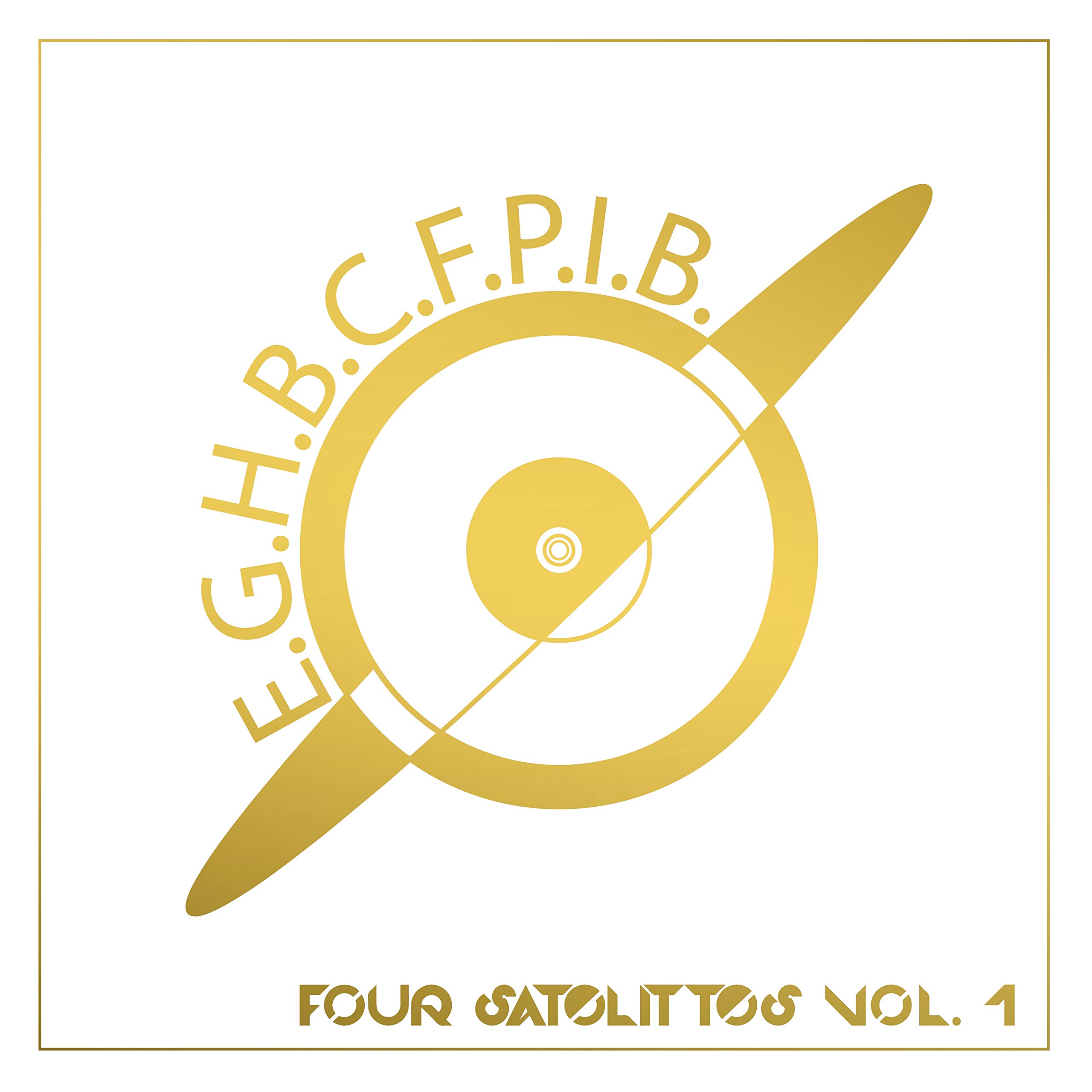 CD : Earth Girl Helen Brown - Four Satelittes Vol. 1 (CD)