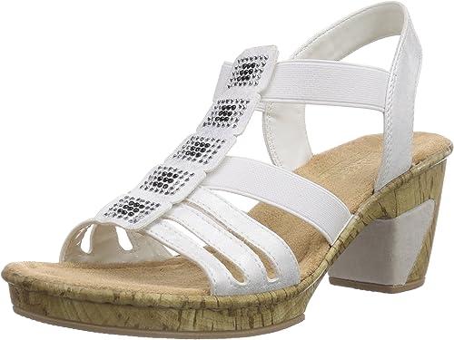 Rieker Sandalette bianco 69761 80 |